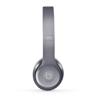 DRE BEATS Royal Stone Grey Reconditioned Solo 2 Wired Headphones