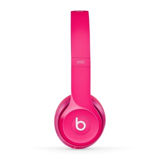 Beats by Dre Solo2 Pink Reconditioned Wired Headphones