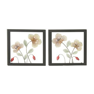 Metal LED Wall Plaque 2 Assorted