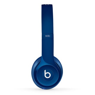 Beats by Dre Solo 2 Blue Reconditioned Wired Headphones