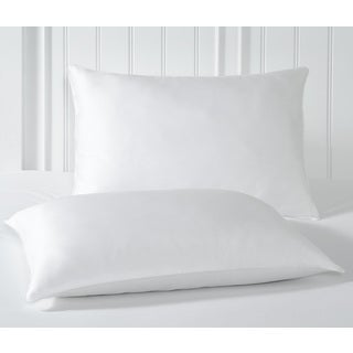 Rest Remedy Cotton All Natural Feather Jumbo Pillow (Set of 2)