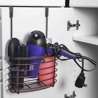 Home Basics Bathroom Over-the-Cabinet Hanging Organizer
