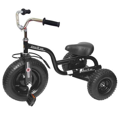 Gener8 Black Metal Deluxe Tricycle