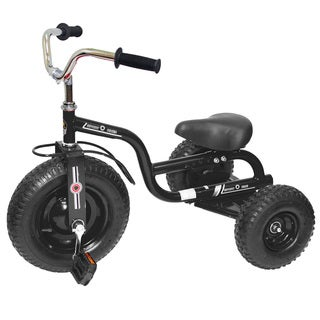 Gener8 Black Metal Deluxe Tricycle