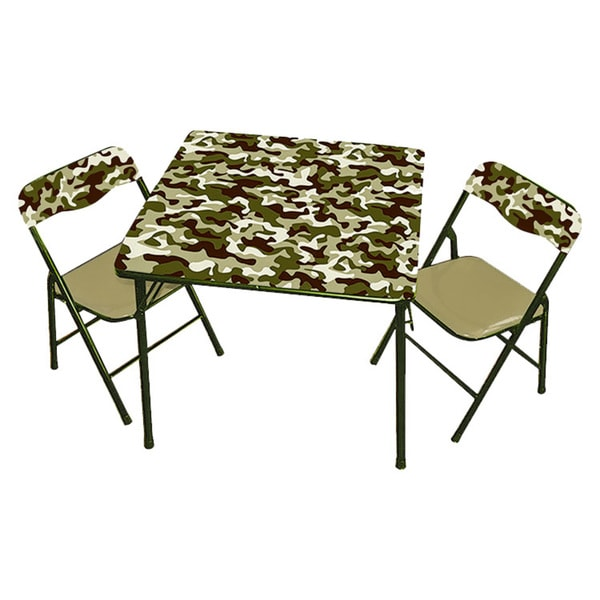 Gener8 Green Camo Table & Chairs
