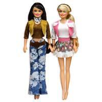 Western Cowgirl Plastic Dolls