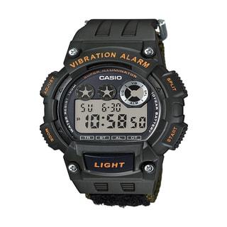 Casio Men's 'Super Illuminator' Quartz Black Casual Watch