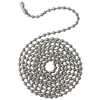 Westinghouse 7704900 3' Stainless Steel Beaded Chain With Connector