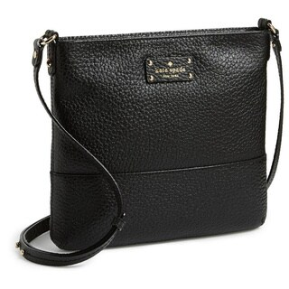 Kate Spade Women's New York Grove Court Cora Black Leather Cross-body Handbag