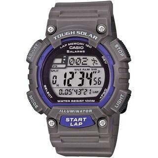 Casio MensTough Solar Runner Black Watch (Option: Grey)