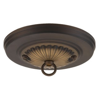 "Westinghouse 7005000 5"" Oil Rubbed Bronze Traditional Canopy Kit"