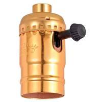 Leviton C30-10083-PG Turn Knob Lamp Socket