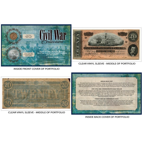 American Coin Treasures Civil War Coin and Currency Collection