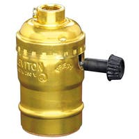 Leviton 054-10083-16 Turn Knob Lamp Socket