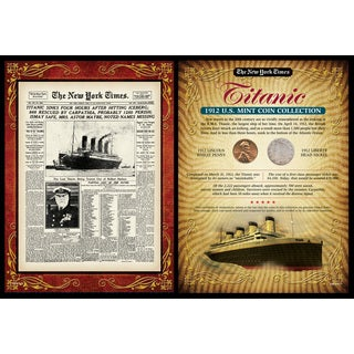 American Coin Treasures New York Times Titanic Portfolio