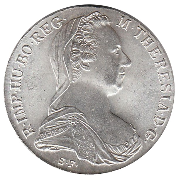 American Coin Treasures Maria Theresa Thaler 1780 Restrike Austrian Coin