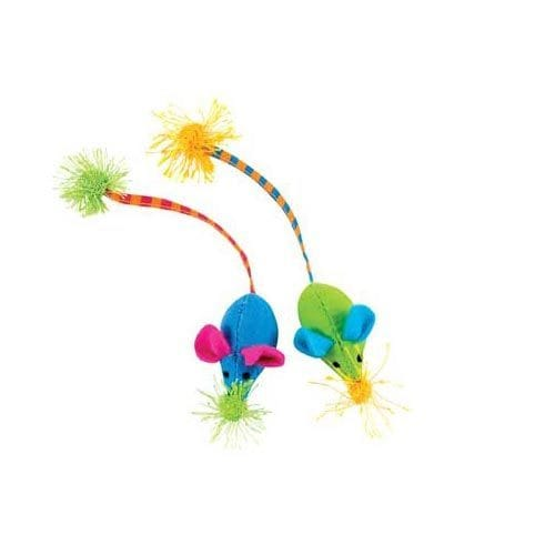 Petstages Twice Mice Cat Toy (4 x 2 x 2 inches)