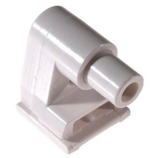 Leviton 104-2536-0 Fluorescent Lamp Holder For Slimline, Single Pin Lamps