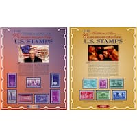 American Coin Treasures Commemorative 1939 and 1949 Stamps