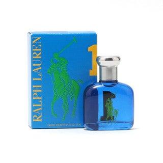 Ralph Lauren Polo Big Pony Blue #1 Men's 0.5-ounce Eau de Toilette Splash