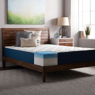 Select Luxury 12-inch Queen-sized Quilted Airflow Gel Memory Foam Mattress