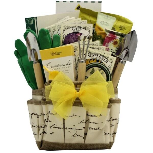 Garden Serenity Gardening Gift Basket