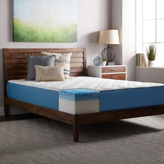 Select Luxury 12-inch Full-sized Quilted AirFlow Gel Memory Foam Mattress