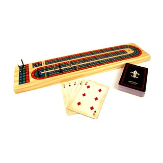 Solid Wood Cribbage Set