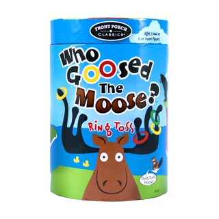 Who Goosed The Moose? Ring Toss Game