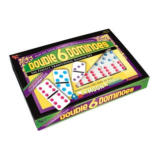 Puremco Double 6 Color Dot Tournament Size Dominoes