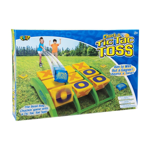 POOF Chuck-O Tic Tac Toss Beanbag Game