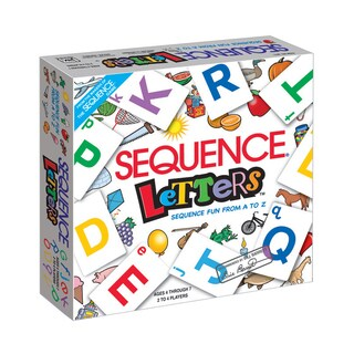 Jax Ltd. Sequence Letters Game