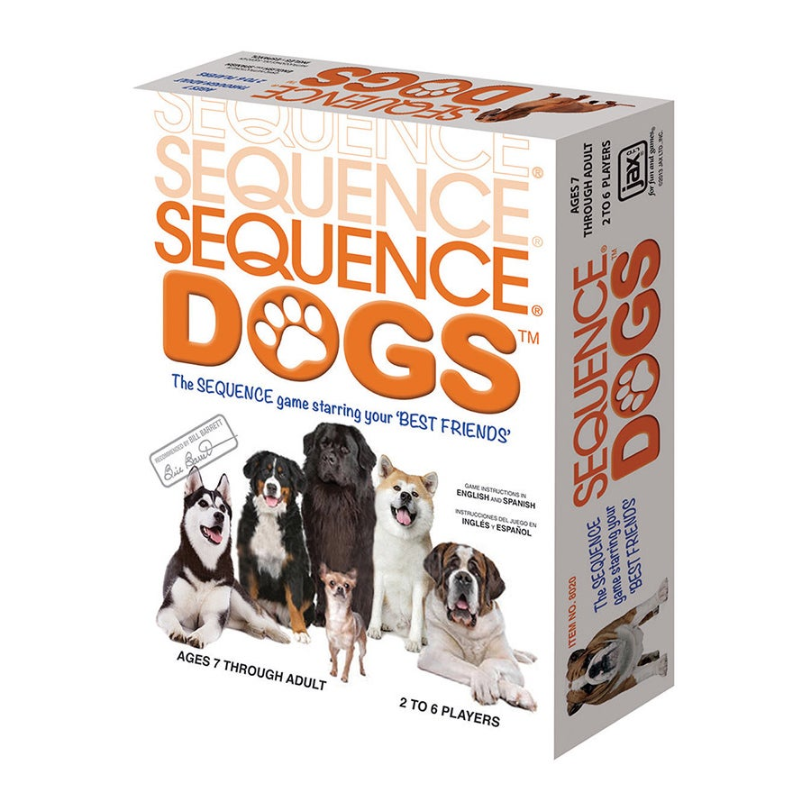 Jax Ltd. Sequence Dogs Board Game (Sequence Dogs Game), B...