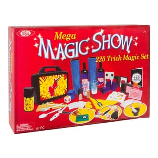 Mega 220 Trick Magic Show Set|https://ak1.ostkcdn.com/images/products/11846784/P18749179.jpg?impolicy=medium