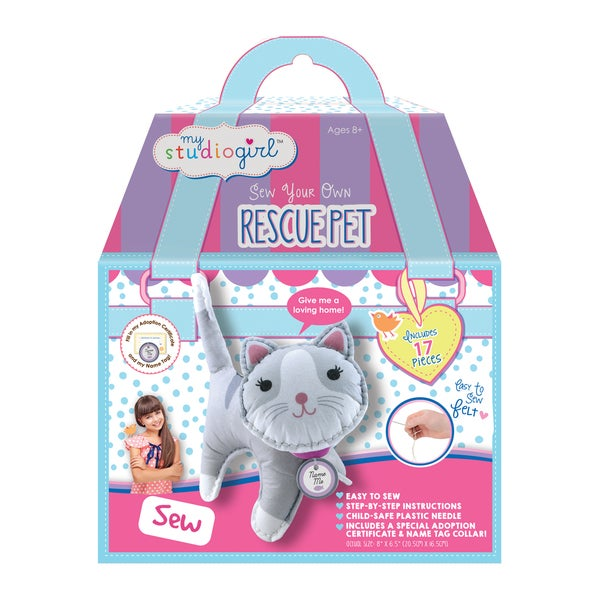 My Studio Girl Make-Your-Own Rescue Pets - Kitty