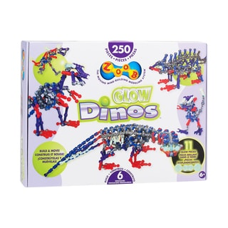 ZOOB Glow Dinos Glow-in-the-Dark Building Set