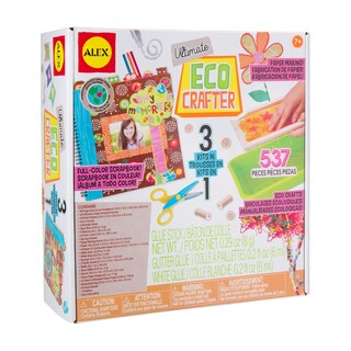 Alex Toys Ultimate Eco Crafter Scrapbooking and Crafting Kit