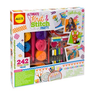 Alex Toys Ultimate Knit & Stitch Party Kit