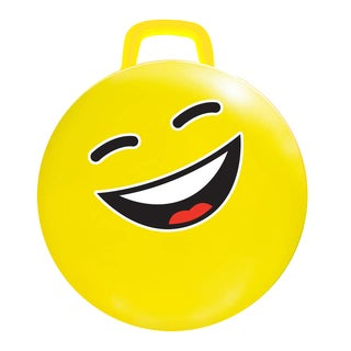 Yellow 18-inch #LOL Emoji Hop Hop Jumping Ball