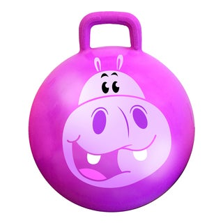 Squishy the Hippo 18-inch Jungle Hop Hop Bouncer
