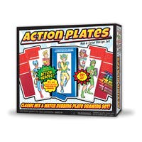 Action Plates Rub & Color Design Set