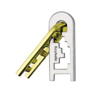 BePuzzled Hanayama Level 4 Cast Keyhole Puzzle