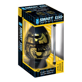 BePuzzled Smart Egg 'Black Dragon: Maddening' 2-layer Labyrinth Puzzle