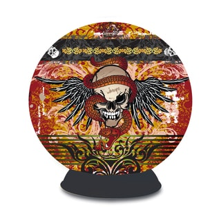 Lifestyle Skull Tattoo Plastic 240-piece 3D Puzzle Sphere