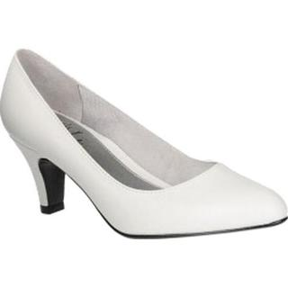 Women's Life Stride Sable Pump White Victory