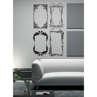 Stylish Photo Frame Wall Art Sticker Decal