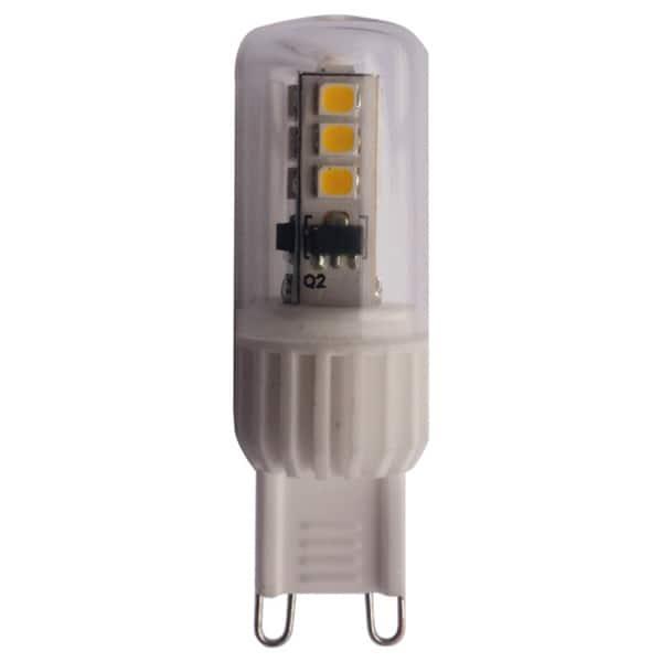 Goodlite G9 Led 3 5 Watt 40w Equal 400 Lumens Dimmable 120v T13 Light Bulb Pack Of 20