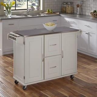 Patriot White or Black Wooden Kitchen Cart by Home Styles|https://ak1.ostkcdn.com/images/products/11850496/P18752144.jpg?impolicy=medium