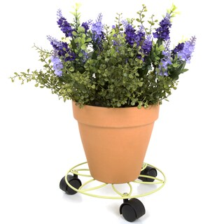 Pure Garden Plant Caddy - 9.75 inches - Sage Green