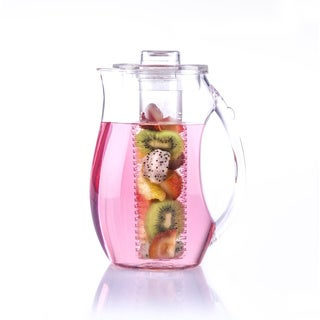 Fruit Infusion Clear Plastic 3-piece Pitcher